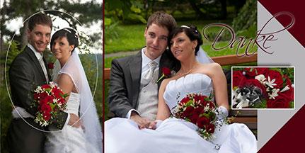 Fotokarten Dankeskarte Hochzeit